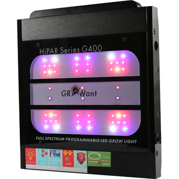 Intelligent LED Grow Panel OSRAM 400W Full Spectrum | GROWant G400Pro