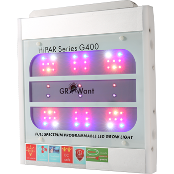 Smart LED Grow Lights OSRAM 400W Full Spectrum UV+IR | GROWant G400Pro