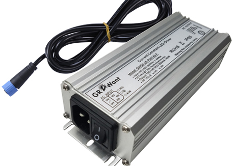 External power driver for led grow light