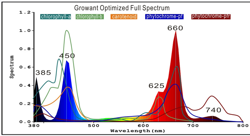 Growant 400w Full Spectrum led grow light